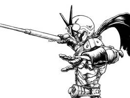 Kamen Rider X - 1 by Uky0