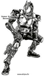 Kamen Rider 555  Exceed Charge by Uky0