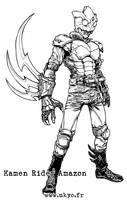 Kamen Rider Amazon by Uky0
