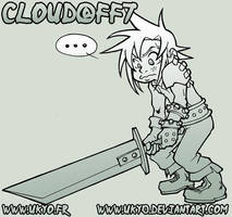 Cloud from Final Fantasy 7 by Uky0
