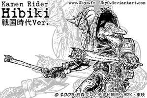 Kamen Rider Jidai Geki Hibiki by Uky0