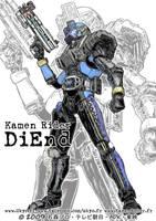 Kamen Rider DiEnd by Uky0