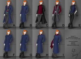 Baxter Costume Design Entry by KitFang