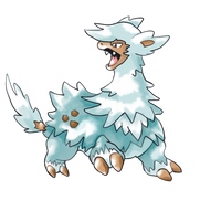 Official Sugimori Art: Llamice by JustinNuggets