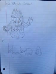 PVZ Plant Villain (The Squash-Torch!) by StantheSpider