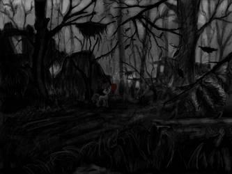 lost in darkness by Ulyanovetz