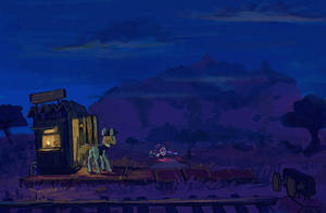 Night of the Kirin by Ulyanovetz