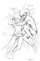 TKDee: Sleep, my brother by drathe