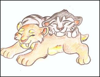 Dira and Shigo by Tayarinne
