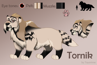 Tornik ref sheet by Tayarinne