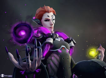 Moira - Life and Death by EvilPowny