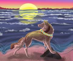 Beyond the horizon by Gerundive