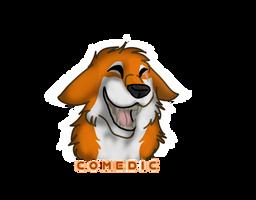 comedic Sticker by Gerundive
