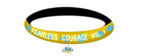 fearless Courage Vol. 1 for the front page by Gerundive