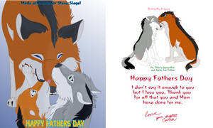 Fathers Day card for my Dad by Gerundive