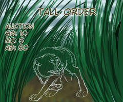 Tall Order YCH Auction (open) by Gerundive