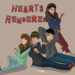 Hearts Rendered 2019 Poster.  by Gerundive