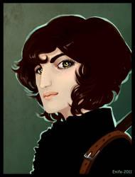 Asha Greyjoy by Enife
