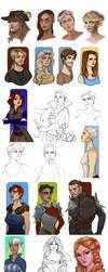 Sketchdump IX by Enife