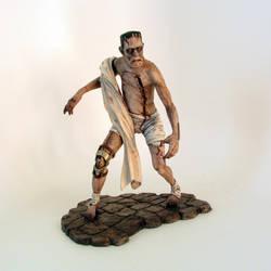 First Steps - Frankenstein's Monster by RyanBuckalew