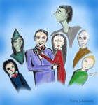 The Addams family by avoranic
