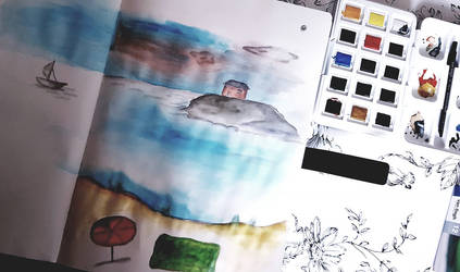 Water color doodles by avoranic