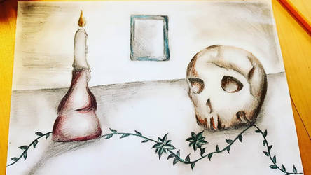 Still life illustration - kind of... by avoranic