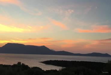 Sunrise on Meganisi 2 by ancoben