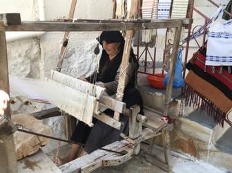 Greek widow weaving by ancoben