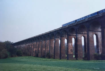 Balcombe viaduct old photo by ancoben