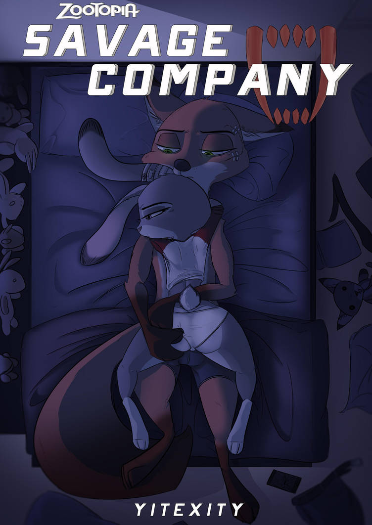 Savage Company Official Cover (CHAPTER 3) by yitexity