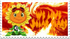 Solar Flare Stamp by Stickythefireband