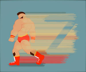 Z is for Zangief by Amateuritis