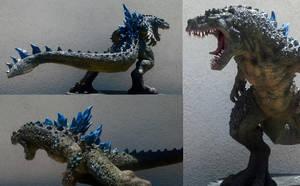 Godzilla redesign 1 by tallfastskater
