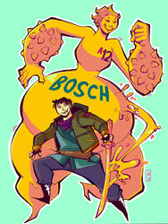 BOSCH and Nyle by ToxicToothpick