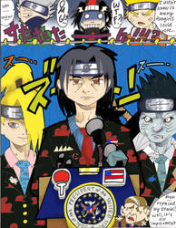 Itachi for President by ToxicToothpick