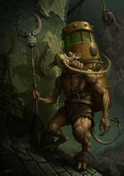 Skaven Master by edgarsh422