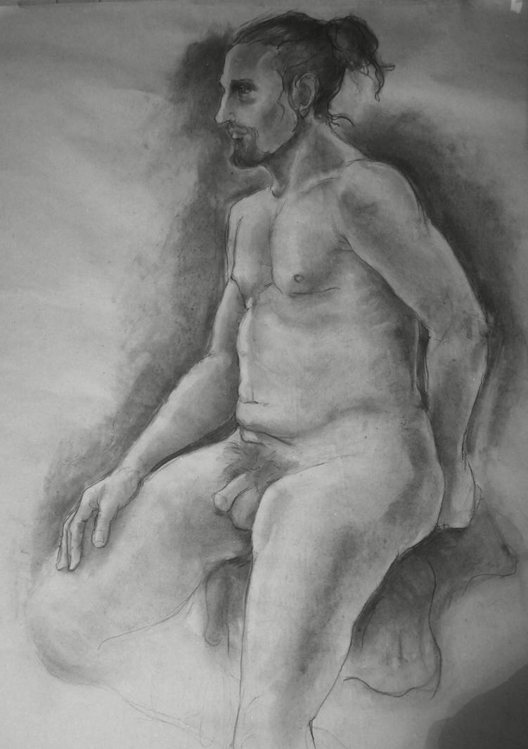 Figure drawing 13 by MuseOfMelancholy