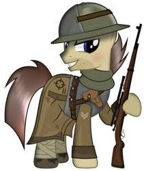 Sniper Hooves by Brony-Works