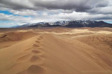 A Sandy Summit by Jacob-Routzahn