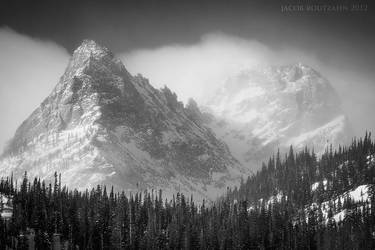 Winter at Fern Lake by Jacob-Routzahn