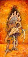 Bird Golem by ursulav