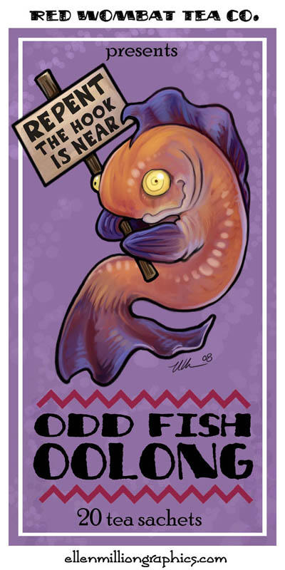 Odd Fish Oolong by ursulav