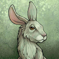 Rabbit Tile by ursulav