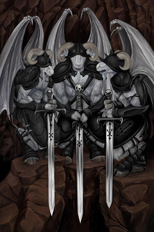 Three Demons by ursulav