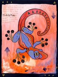 Gecko Grunge by ursulav