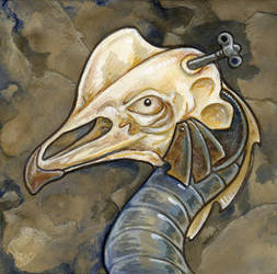 Fourth Bird Golem by ursulav