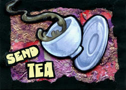 ACEO 4 - Send Tea by ursulav