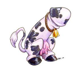 Holstein Phalloi by ursulav