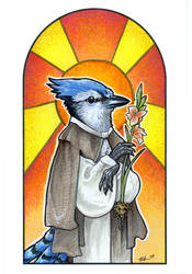 Saint Azul by ursulav